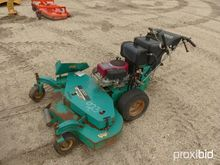 LESCO COMMERCIAL MOWER powered