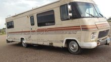 Winnebago motor home, miles on