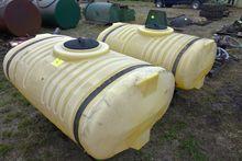 (2) - 175 Gallon Poly Tanks Wit