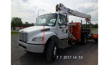 Altec Hydraulic Crane mounted b