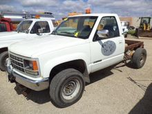 1993 Chev 3500HD Cab and Chassi