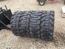 (4) Skid Steer Tires (New/Unuse