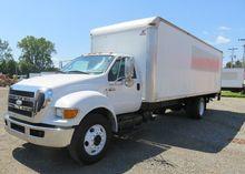 2008 Ford F-650 Box Truck