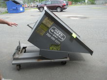 JESCO ROLLING DUMP TRASH CART 1