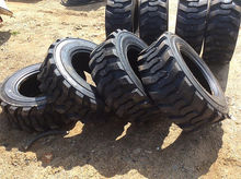 (2) Skid Steer Tires (New/Unuse
