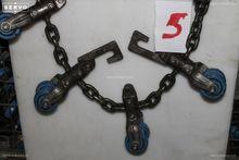 Chicken line chain 8 trolleys/m