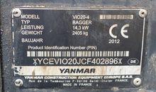 2012 Yanmar VIO 20