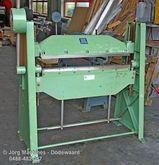 M758 Jörg manual press brake 34