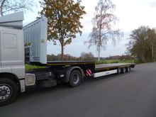 2017 Krone low loader 3 axle st