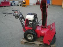Aebi commercial snowblower Aebi