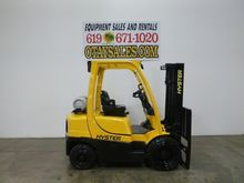 2010 HYSTER 5,000LB H50FT PROPA