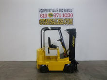 HYSTER 4000LB E40XL 4 WHEEL ELE