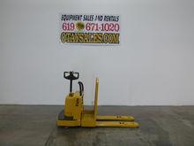 1999 YALE 8,000LB MPE080 ELECTR