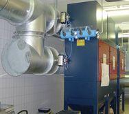 GFD GR 1252 filter plant
