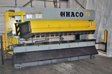 165 Ton Haco Hyd. Press Brake.