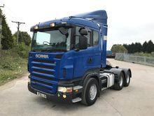 2005 Scania R420 6x4 Sleeper Ca
