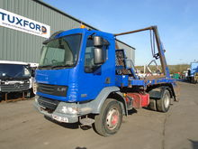 2008 RHD DAF LF55.220 4X2 SKIPL