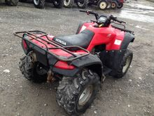 Honda 370  Quad Bike  Manual Tr