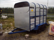 2 Cow Trailer Galvanised