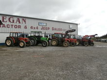 Various of Used Tractors In Sto
