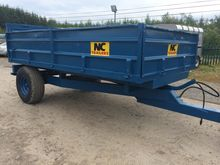 NC Tipping Trailer  12 ' x 6 '