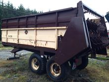 Debtrac Trailed Muck Spreader