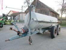 Liquid manure spreader 5,500 l
