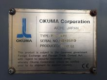 Used OKUMA MB66VA VE