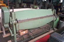 "sheet metal folding machine ""RA"
