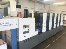 2001 KBA Rapida 74-5 PWHA LX CX