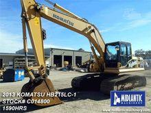 2013 KOMATSU HB215 LC-1