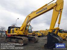 2014 KOMATSU PC490 LC-10