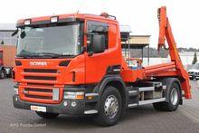 Scania P 360 EURO 5 skip loader