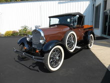 1929 1929 Ford Model A Roadster