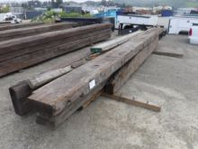 Used Pallet Of Railroad Ties for sale  Top quality machinery