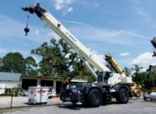 Used Terex QUADSTAR