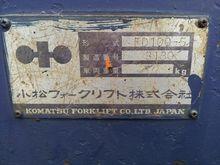 Used Komatsu SN in T