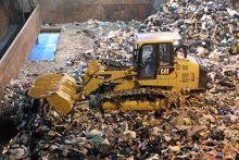CAT 963K WH Waste Handler Track