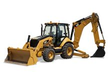 New CAT 450F Backhoe
