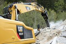 CAT M322F Wheeled Excavator