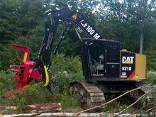 CAT 521B Track Felller Buncher
