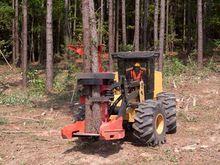 CAT 573C Wheel Feller Buncher