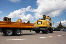 CAT M318F Wheeled Excavator