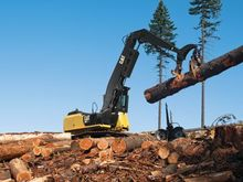 CAT 568 Forest Machine