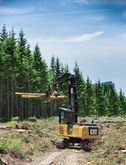 CAT 558 LL Forest Machine