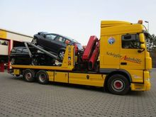 2012 DAF XF steering axle