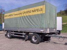 BIRRER Container transport trai