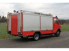 1996 MERCEDES-BENZ 814 D fire d