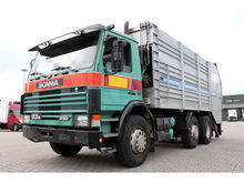 1990 SCANIA 93M-250 6x2 garbage