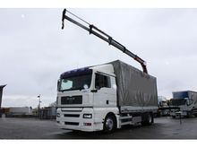 2005 MAN TGA 18.390 Lorry Crane